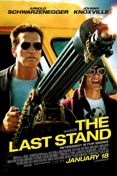 The Last Stand with Arnold Schwarzenegger and Johnny Knoxville